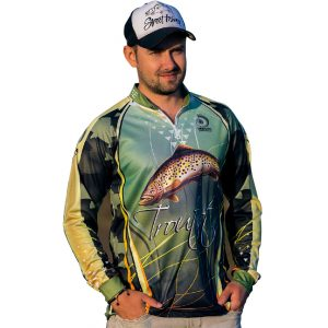 Fishingwear troutist fishing jersey longsleeve