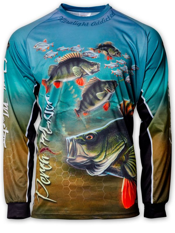 Fishingwear Fishing Jersey Perch master front