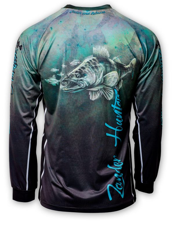 Fishingwear Zander Hunter Fishing Jersey back