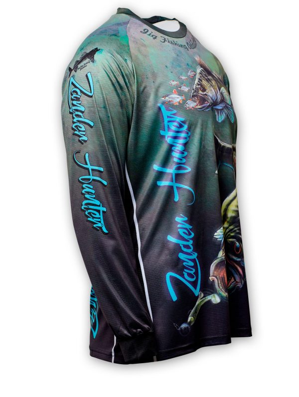 Fishingwear Zander Hunter Fishing Jersey side