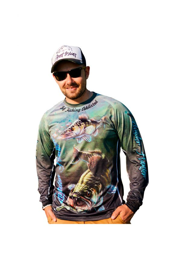 Fishingwear Zander Hunter Fishing Jersey main