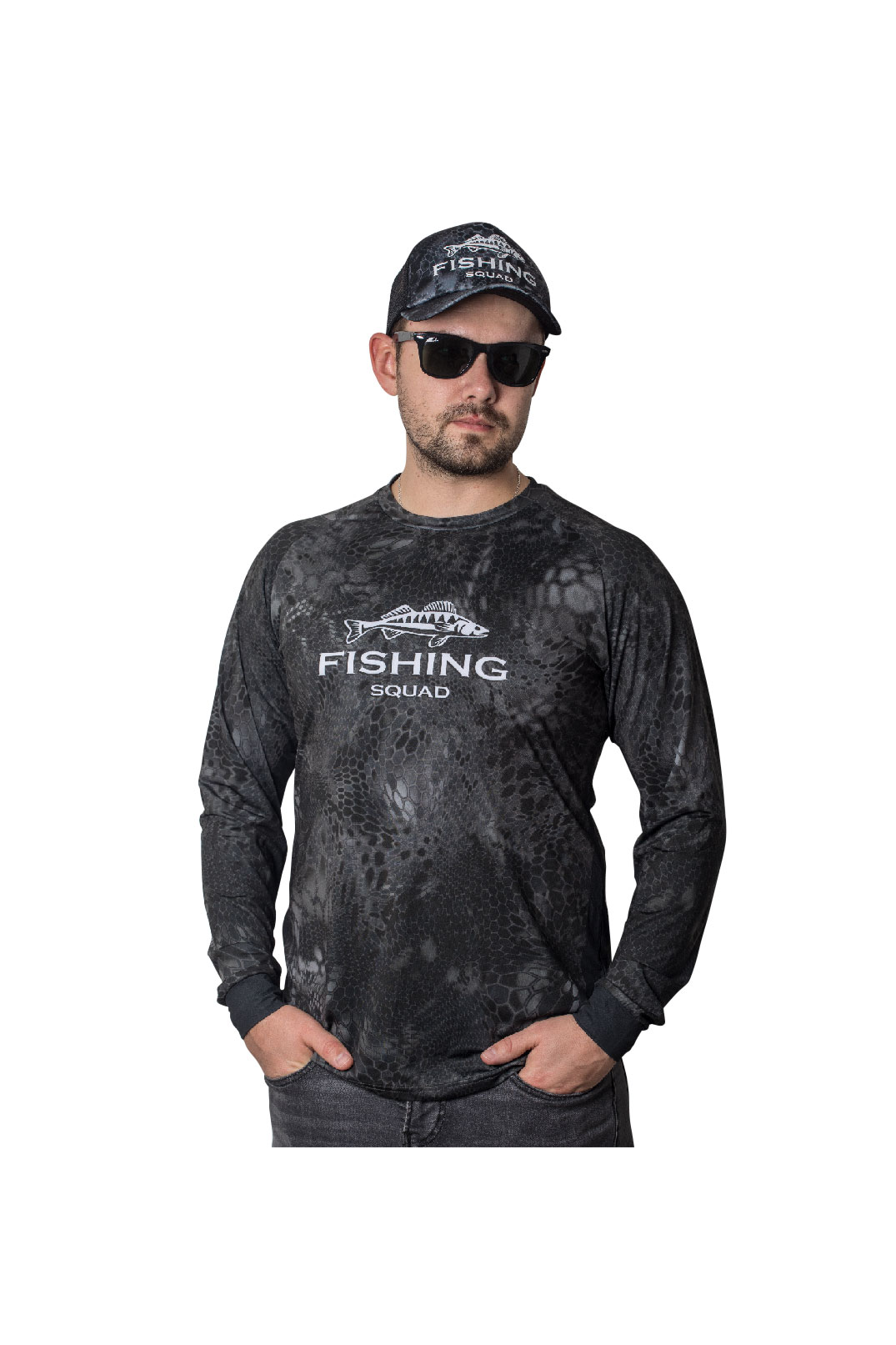 Fishingwear Reptile Skin G Fishing Jersey main