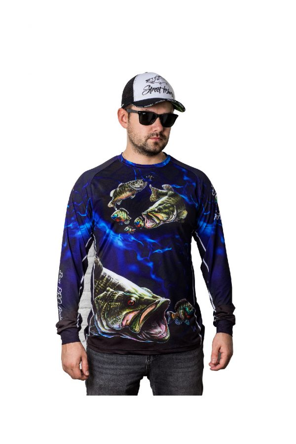 Fishingwear jersey bass fishing longsleeve