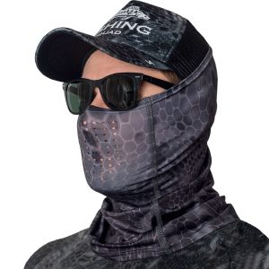 Face Mask Reptile Skin Gray