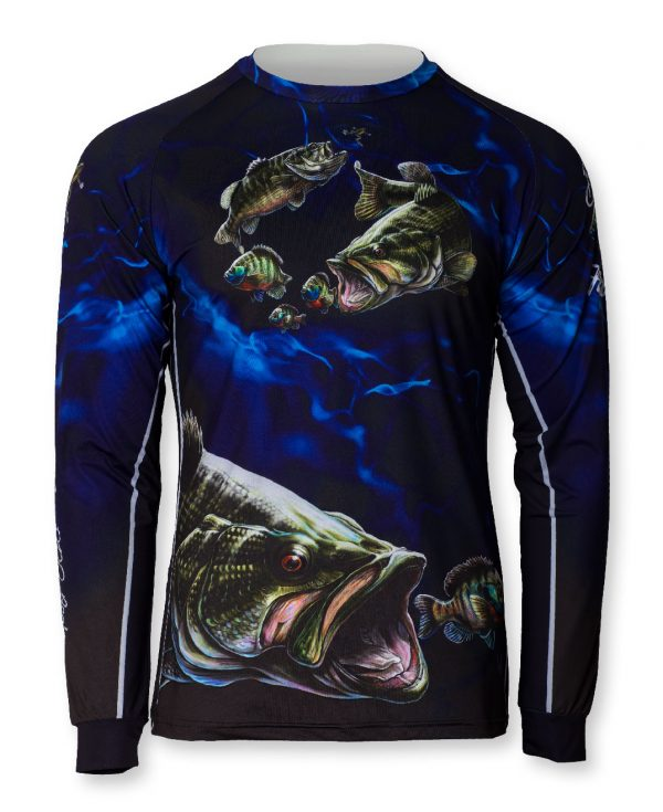 fishingwear fishing jersey bass fishing