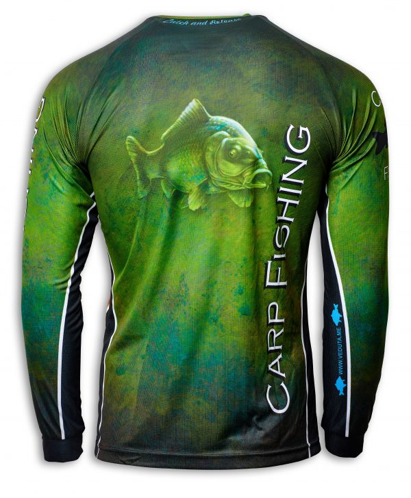 Fishingwear Carp fishing jersey back