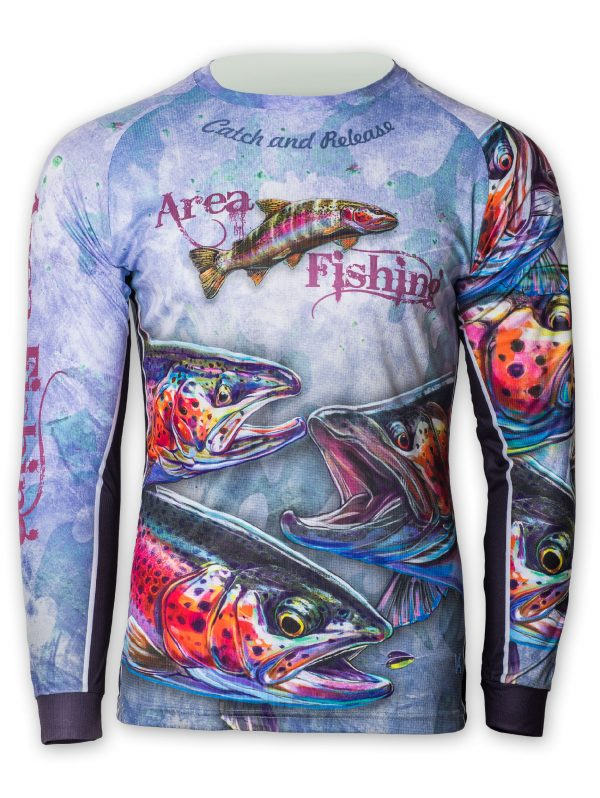 Fishingwear Area Fishing Jersey front