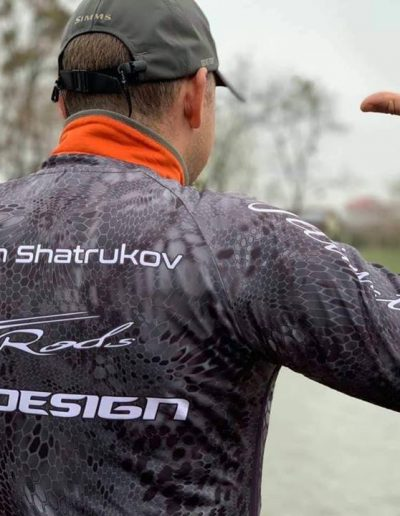 Custom Fishing Jersey Reptile Skin Black With name