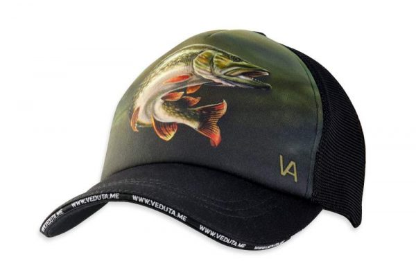 Pike Hunter Fishing Cap designed by Veduta