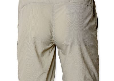 Fishing Pants Zipp-off light grey color