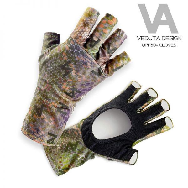 Fishing Gloves UPF50+ Designed by Veduta