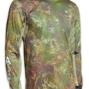Air Series Fishing Jersey Forest Camo side