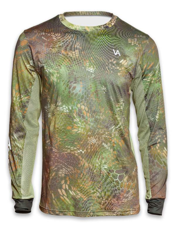 Air Series Fishing Jersey Front